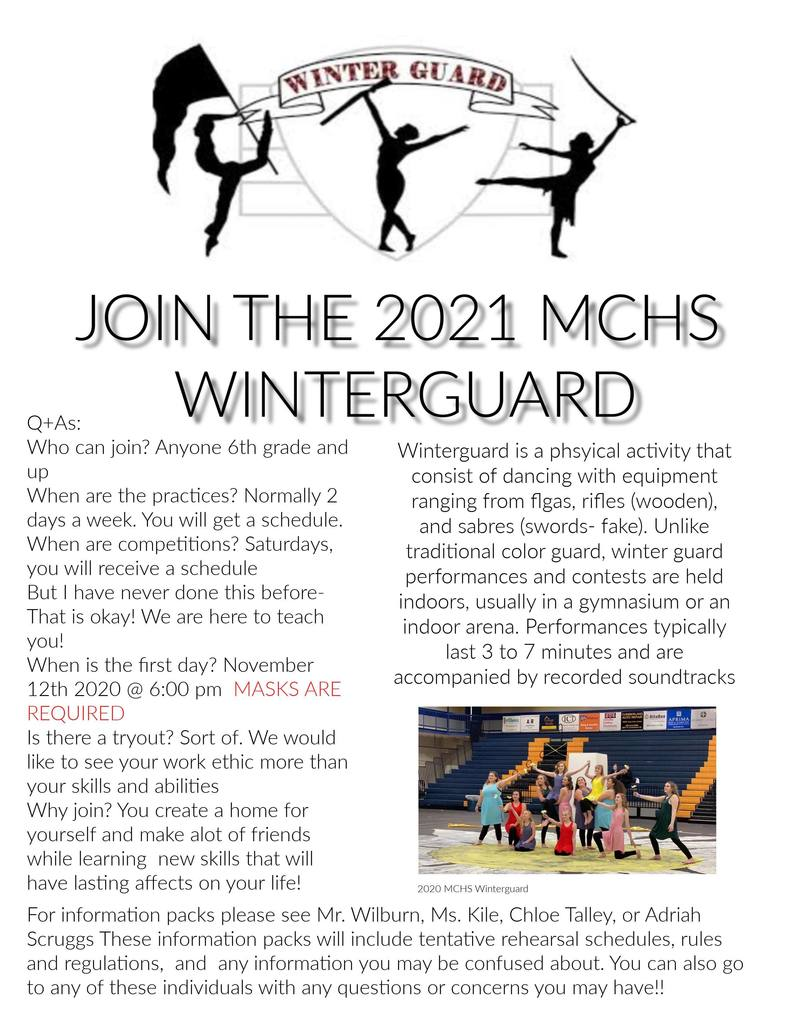Winterguard Flyer 2021