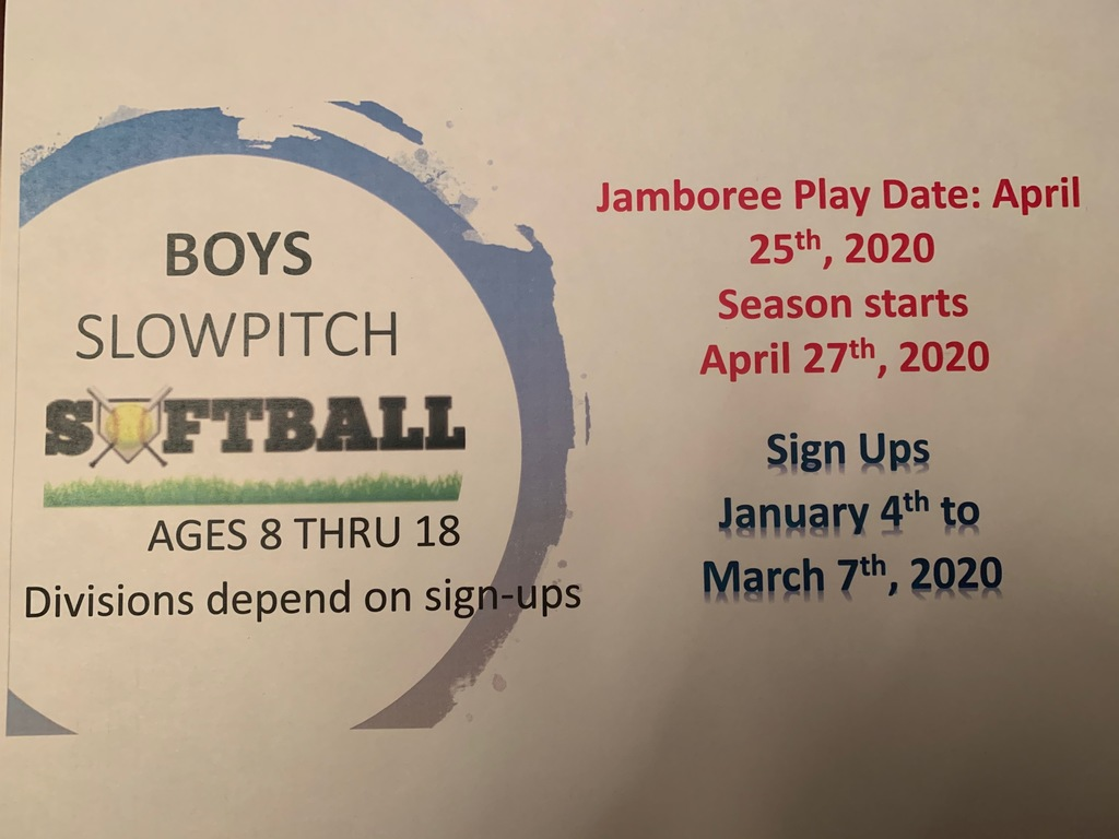 boys girls softball info