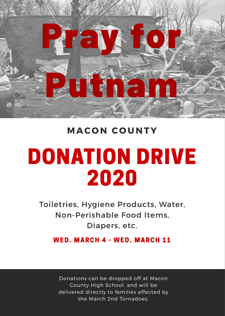 Cookeville Donation Flyer