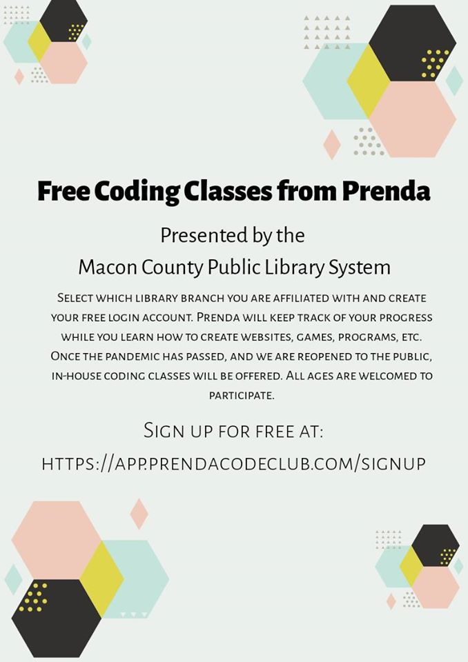 Library Coding Class